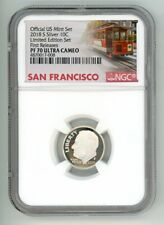 2018 S SILVER ROOSEVELT DIME 10C LIMITED EDITION NGC PF70 FR UC  4870017-008 TRO