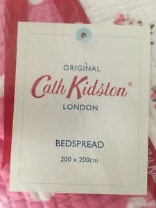Cath Kidston Reversible Quilted Bedspread/Throw. Double / Single bed RRP £125