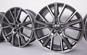 Audi A3 8V 8P A4 B8 A6 Avant 4F S4 S6 A8 Q2 Q3 S3 TT 18 Zoll Alufelgen WH34 grau