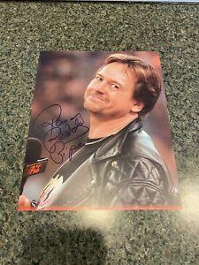 Roddy Piper Signed 8 x 10 w/COA - WWE WCW AEW NXT NWA Impact