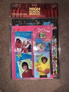 Disney High School Musical School Stationary Supplies 11 Piece Value Pack New