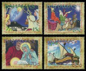Bahamas 2002 - Mi-Nr. 1125-1128 ** - MNH - Weihnachten / X-mas