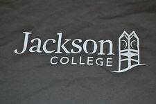 Jackson College Jets MI Clock Tower Logo T Shirt Large Nice