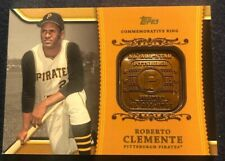 Roberto Clemente Pittsburgh Pirates Commemorative Ring WM-RC4 Topps B13