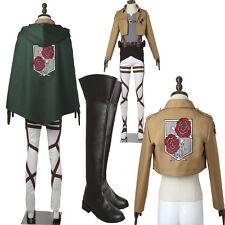 Shingeki no Kyojin Attack on Titan Cosplay Stationed Corps Costume Hallowmas
