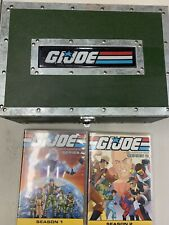 GI Joe A Real American Hero Complete Series Collectors DVD Box Set Plus Extras!!