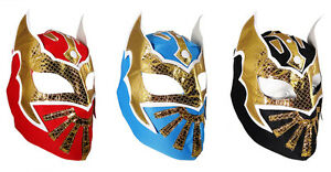 Sin Cara Replica Wrestling Mask Lucha Libre Fancy Dress Mexican - Child & Adult