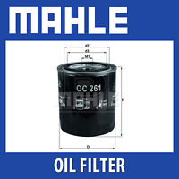 Mahle Oil Filter OC261 - Fits Rover Group - Genuine Part