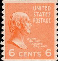 Scott#: 846 - John Quincy Adams Single Stamp MNH OG -- Free Shipping --