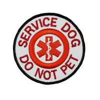 Service Dog Do Not Pet Patch Guide Animal Medical Assistance Iron On Applique