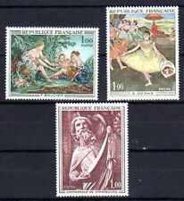 France 1970 Yvert n° 1652 à 1654 neuf ** 1er choix