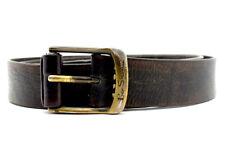 Ben Sherman Vintage Mens Leather Belt Brown Size 36