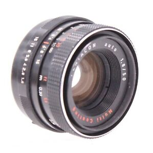 PENTACON Auto 50mm f/1.8 M42 Mount Camera Lens  - C77