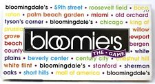 BLOOMIE'S THE GAME BLOOMINGDALE'S DEPARTMENT STORE BOARD GAME LATE FOR THE SKY