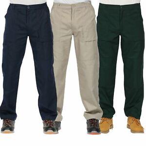 Regatta Elasticated Waist Mens Action Water Resistant Walking Cargo Trousers