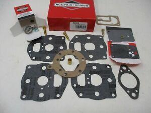 Genuine Briggs & Stratton 694056 Carburetor Overhaul Kit Rebuild 16/18 HP L-He
