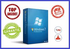 Microsoft Windows 7 Professional, 32/64BIT ✔ MS® Windows ✔ PRO VOLLVERSION
