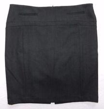 WOMENS black pinstriped pencil SKIRT = EXPRESS = SIZE 8 = de74