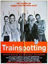 TRAINSPOTTING Affiche Cinéma 80x60 / Movie Poster Ewan McGregor Danny Boyle
