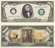 Zachary Taylor 12th U.S. President History Bill # P12