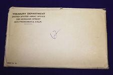 "1962 Official U.S. Mint Set. Complete and original. 10 coins Both ""P"" & ""D"""