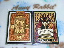 1 deck of Bicycle Venexiana black Playing Cards printed by USPCC-S103227996915-A