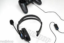 Deluxe Headset Headphone With Microphone Volume Control for Ps4 Controller & PC