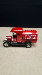 """Y3 1912 -16 Ford Model T Tanker """"Red Crown Gasoline"""" Limited Edition"""