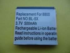 Nokia Compatible Battery-bl-5x - 8800-sirocco in Bulk H.Q