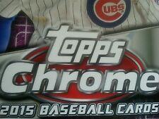 2015 Topps Chrome Baseball U Pick 10 to complete our set