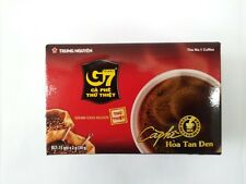 Vietnam Pure Black Instant Coffee G7 1 Box of 15 Packs ( 2 g )  flavor