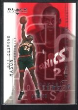 DESMOND MASON 2000/01 BLACK DIAMOND #118 RC ROOKIE SUPERSONICS SP #049/750