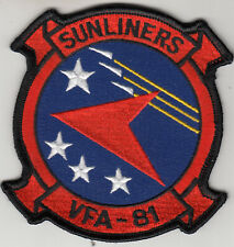 VFA-81 SUNLINERS COMMAND CHEST PATCH