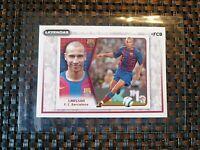 Panini Sticker /  2007 /08 :  HENRIK LARSSON /  FC BARCELONA : MINT /NEW