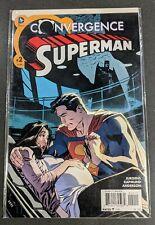 Superman Convergence #2 1st Appearance of Johnathan Kent Jon Superboy Comic Book