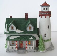 Dept 56 Craggy Cove Lighthouse Christmas New England Village Building 1987 #008