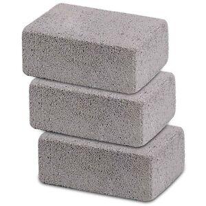 Ajmyonsp 3Pack Grill Cleaning Brick Block Brick-A Magic Stone Pumice Griddle ...