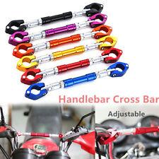 22mm Motorcycle Adjustable Handlebar Cross Bar Steering Strength Lever Dirt Pit