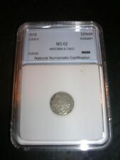 1519 Hungarian Silver Denar Madonna & Child