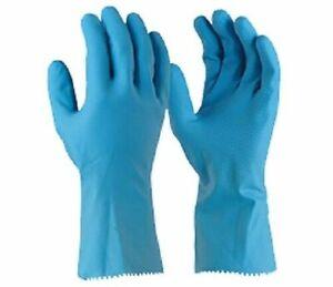 Glove Blue Silverlined Kitchen Garden Lab Glove Small Anti slip Tapered Fit