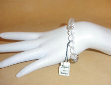 1950's Slender Strand of Faceted Crystal Bracelet by Laguna Jewelry - NWT