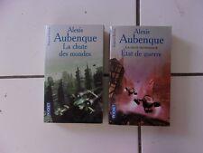 lot Alexis AUBENQUE La chute des mondes 1 et 2 (état de guerre) série complète