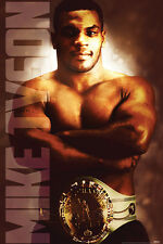 MIKE TYSON HEACYWEIGHT CHAMP 24x36 POSTER BOXER WALL DECOR ART FIGHTER ICONIC!!!