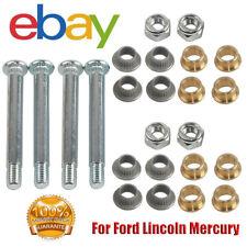 4 Pin 2 Door Front Door Hinge Pins Bushing Repair Kit For Ford Lincoln Mercury