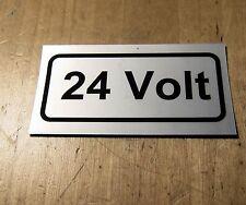 24 VOLT  Aufklebers 2x Unimog Traktor LKW Schlepper Bulldog o27