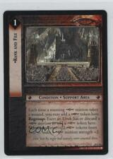 2004 The Lord of the Rings TCG: Mount Doom #10U96 Rank and File Gaming Card 0f8