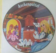 Aschenputtel / Das tapfere Schneiderlein - EUROPA M- Picture Disc Hörspiel LP