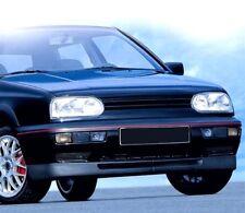 VW Golf 3 III Breite Frontspoilerlippe Spoiler Lippe Set GTI + VR6 Design 91-97
