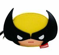 Loungefly Marvel Comics X-Men Wolverine Coin Purse Chibi Bag Zip Around Wallet