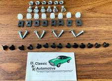 Grill Hardware 50 pc Kit 67-68 Camaro *In Stock* screws clips rivets